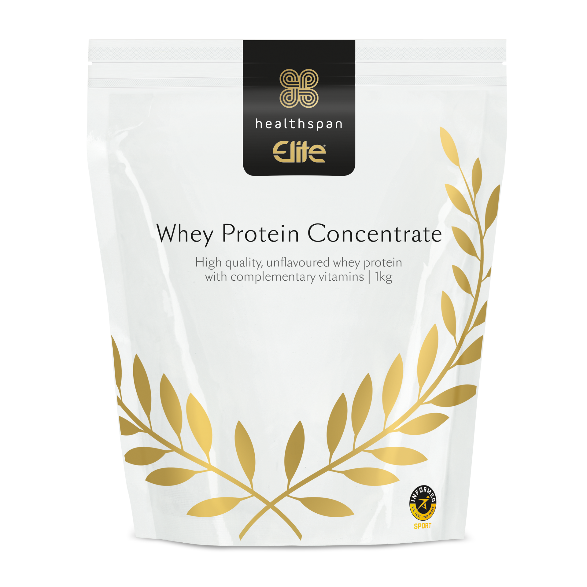 Whey Protein Concentrate pouch front