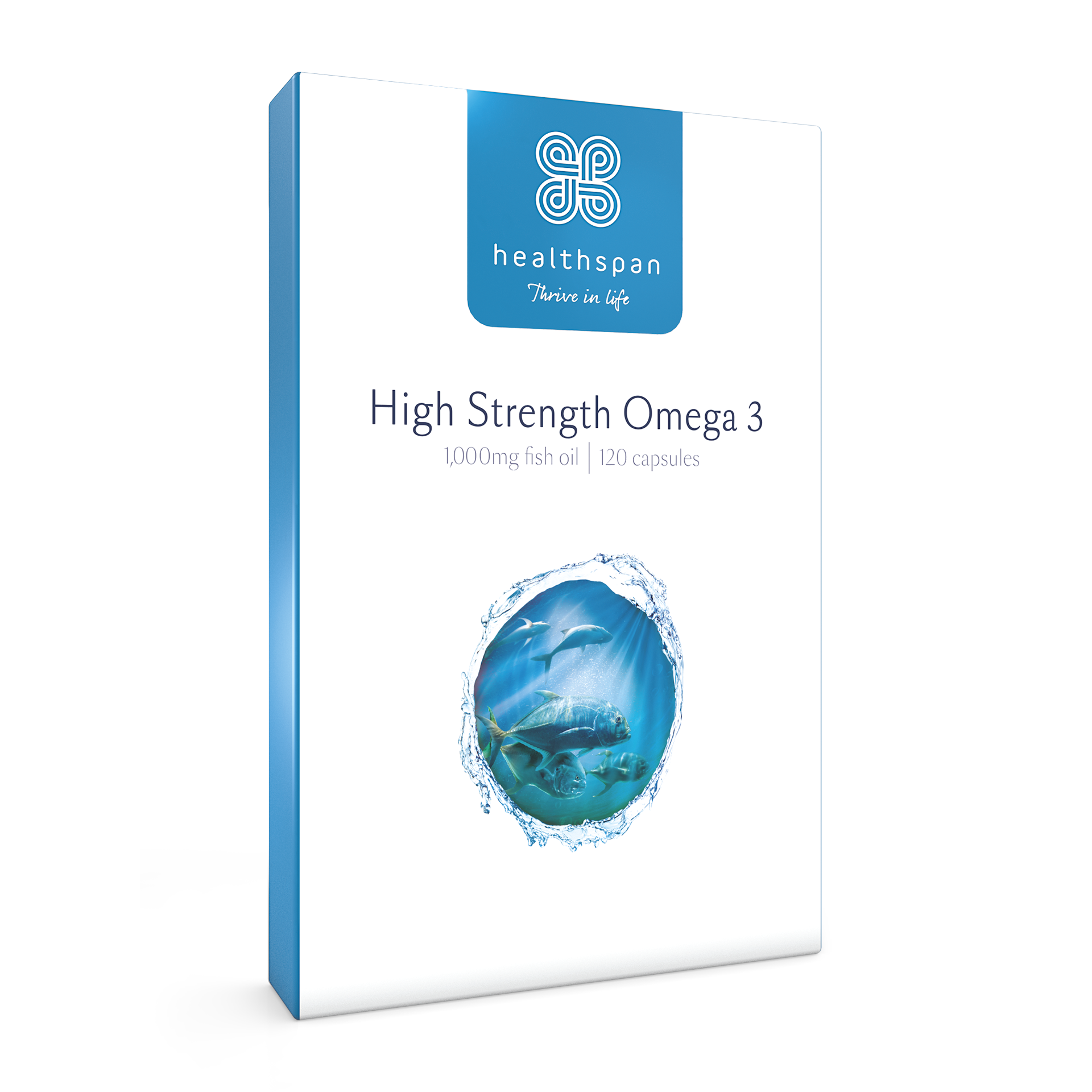 High Strength Omega 3 1,000mg